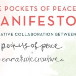 She's here! The Pockets of Peace Manifesto has arrived.